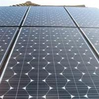 Monocrystalline and Amorphous Solar Panels