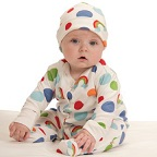 Organic Baby Grows and Vest